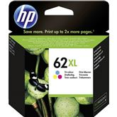 Tintes kārtridžs 62XL Tri-color, HP / krāsains