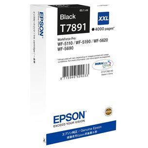 Tintes kārtridžs 79XXL, Epson / melna