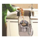 Pārtikas atkritumu smalcinātājs ISE EVOLUTION 100, InSinkErator