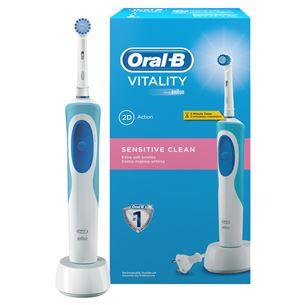 Elektriskā zobu birste Oral B Vitality Sensitive, Braun