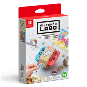 Aksesuāru komplekts Labo Customization Set, Nintendo