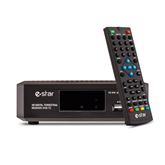 Digitālais TV uztvērējs T2 516 HD, eSTAR