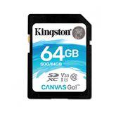 Atmiņas karte Canvas Go! SDXC, Kingston / 64GB