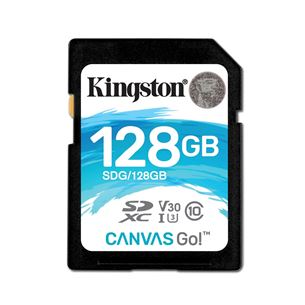 Atmiņas karte Canvas Go! SDXC, Kingston / 128GB