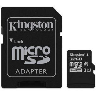 Atmiņas karte Canvas Select Micro SDHC, Kingston / 32GB