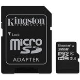 Micro SDHC Canvas Select memory card, Kingston / 32GB