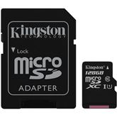 Micro SDXC Canvas Select memory card, Kingston / 128GB