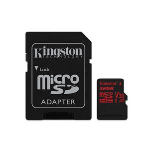Atmiņas karte Canvas React Micro SDHC, Kingston / 32GB