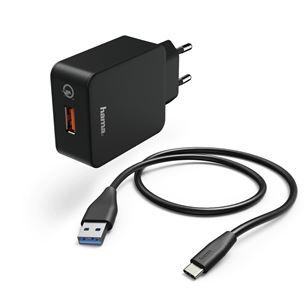 Lādētājs USB Type-C, Hama / 3 A