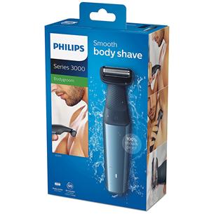 Ķermeņa trimmeris Bodygroom Series 3000, Philips
