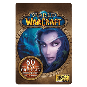World of Warcraft Pre-Paid Card / 60 dienas