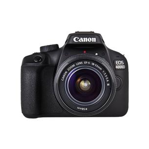 Digitālā spoguļkamera EOS 4000D + objektīvs 18-55mm III EF-S, Canon