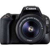 Digitālā fotokamera EOS 200D + objektīvs 18-55mm III EF-S, Canon