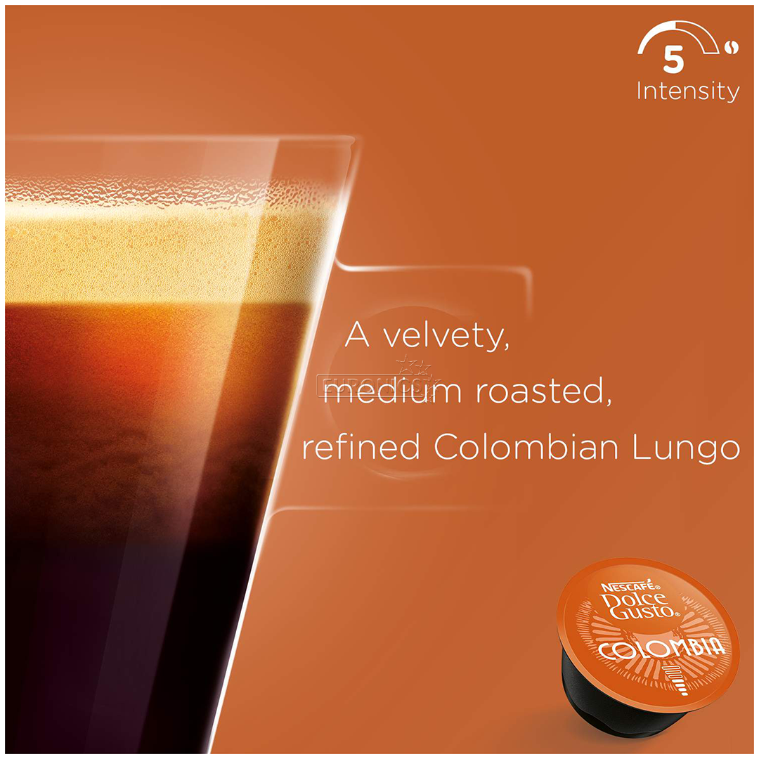 Кофейные капсулы Nescafe Dolce Gusto Lungo Colombia