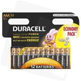 Baterijas AAA, Duracell / 12 gab