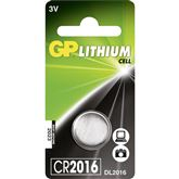 Battery CR2016, GP