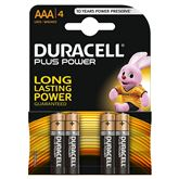 Baterijas AAA Plus Power, Duracell / 4 gab