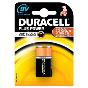 Baterija 9V Plus Power, Duracell