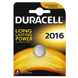 Battery CR2016, Duracell