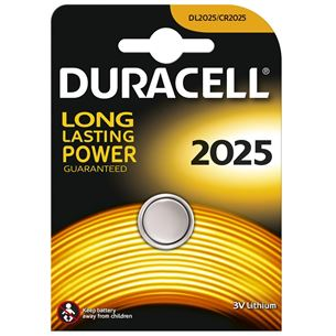Baterija CR2025, Duracell