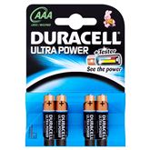 Baterijas AAA Ultra Power, Duracell / 4 gab