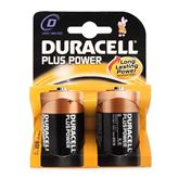 Батарейки D Plus Power, Duracell / 2 шт