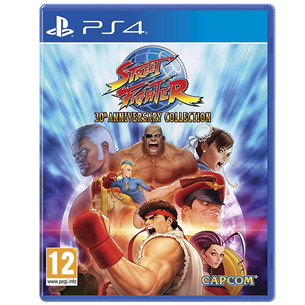 Spēle priekš PlayStation 4, Street Fighter 30th Anniversary Collection