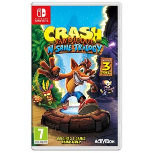 Игра для Nintendo Switch, Crash Bandicoot N. Sane Trilogy