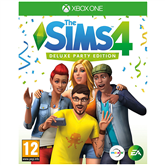 Spēle priekš Xbox One, The Sims 4 Deluxe Party Edition