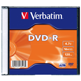 Disks DVD-R Verbatim (4,7 Gb) / 1 gab