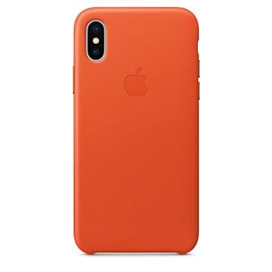 Ādas apvalks priekš iPhone X, Apple