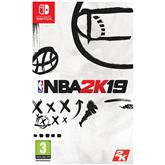 Игра для Nintendo Switch, NBA 2K19