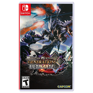 Spēle priekš Nintendo Switch, Monster Hunter Generations Ultimate