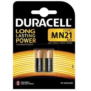 Baterijas MN21, Duracell / 2 gab