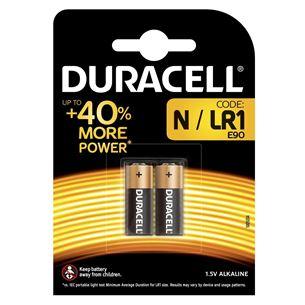 Baterijas N, Duracell / 2 gab