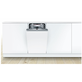 Интегрируемая посудомоечная машина, Bosch / 10 комплектов