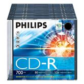 Диск CD-R Philips slim, 1 шт