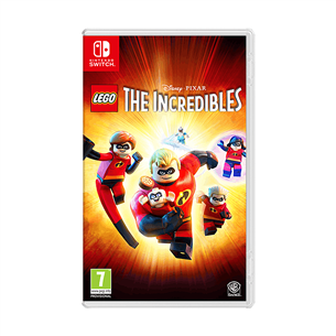 Spēle priekš Nintendo Switch, LEGO The Incredibles