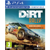 PS4 VR Dirt Rally
