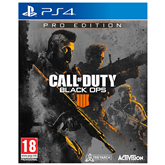 PS4 game Call of Duty Black Ops 4 Pro Edition