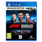 Spēle priekš PlayStation 4, F1 2018 Headline Edition
