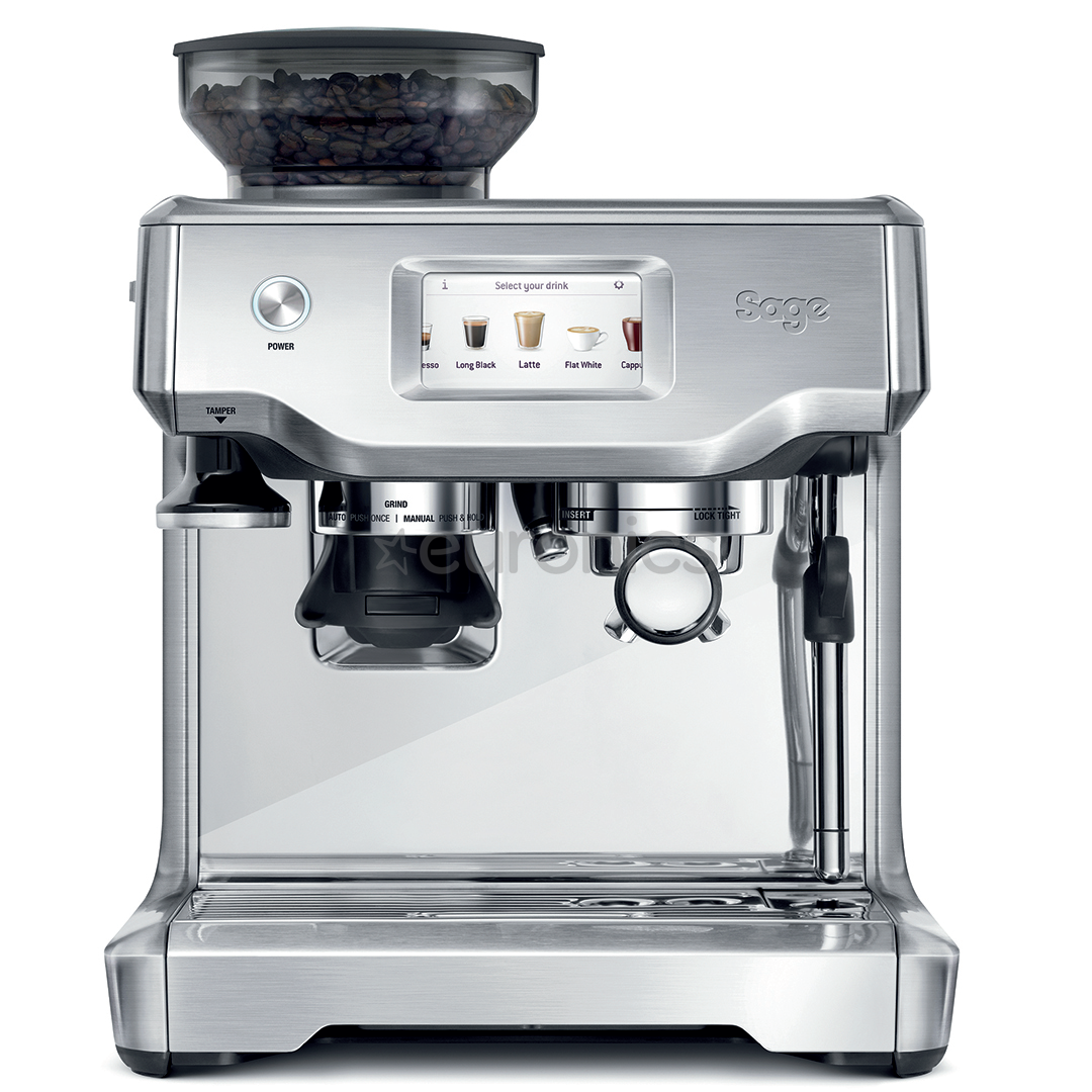 espresso machine sage barista touch ses880bss. Black Bedroom Furniture Sets. Home Design Ideas