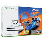 Spēļu konsole Microsoft Xbox One S (500 GB) Forza Horizon 3 & Hot Wheels