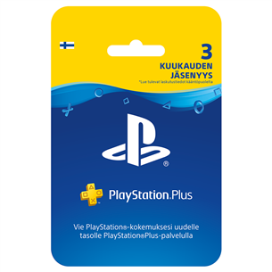 PlayStation Plus membership, Sony / 3 mēneši