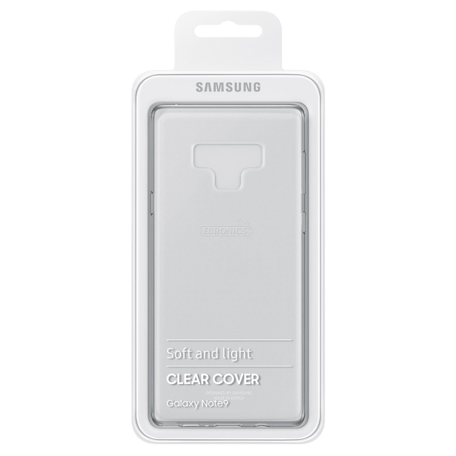 buy online 1ed10 67504 Samsung Galaxy Note 9 Clear Cover