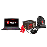 Portatīvais dators GE63 Raider, MSI
