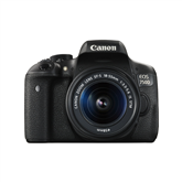 Digitālā spoguļkamera EOS 750D + objektīvs EF-S 18-55mm IS STM, Canon