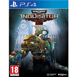 Игра для PlayStation 4, Warhammer 40000: Inquisitor Martyr