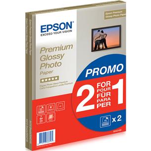 Fotopapīrs Premium Glossy A4, Epson / 255 g/m², 30 lpp
