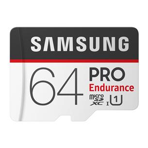 Micro SDHC memory card Samsung Endurance PRO + SD adapter (64 GB)